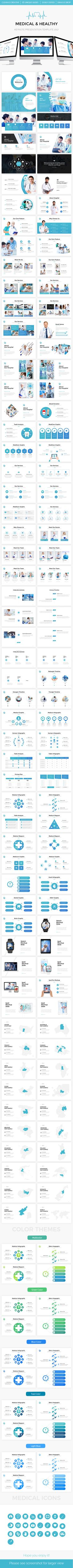 Medical - Healthy Keynote Template - Keynote Templates Presentation Templates