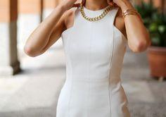 White Sheath Dress Trilogy, Part III: COCKTAILS   MEMORANDUM   NYC Fashion & Lifestyle Blog for the Working Girl