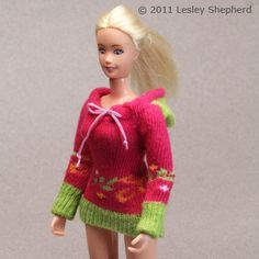 Make a barbie sweater from a kid's sock!   A great use for all those orphaned socks!