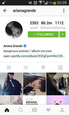 Ariana Grande  @ilovebubblee Account of Ari on Instagram