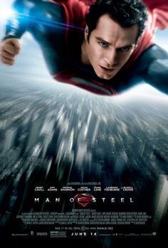 It's the New Poster for 'Man of Steel' starring Henry Cavill | Hey U Guys