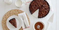 La primera receta de este año viene cargada de chocolate hasta los topes (si estáis a dieta postnavideña, os aconsejo que no sigáis leyendo...