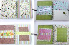 Keepsake Pregnancy Journal Scrapbook Album Me & You by PaperTraits