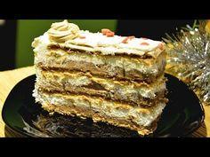 Šeherezada torta - Čokoladna Šeherezada - sočna kremasta čokoladna torta - brza torta - YouTube