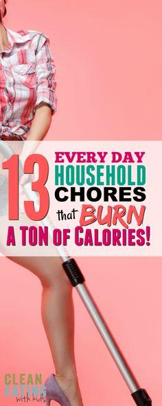 13 Household chores that burn Major Calories (7 Burn more than a 5K Run!!!)