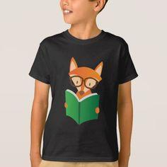 #Nerd Kids boy librarian Reading book T-Shirt - #giftideas for #kids #babies #children #gifts #giftidea