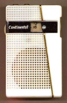 Continental TR-208 pocket transistor radio