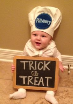 Baby boys first halloween! @Lindsay Faires YES...I will die laughing! I know it won't be his first, but come on :)