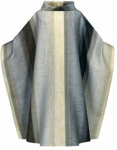 Gray Orleans Vestment by Slabbinck from Henninger's Religious Goods in Cleveland http://henningers.com/vestment_white_slabbinck_3722G.html