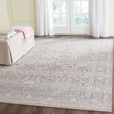 Safavieh Patina Taupe/ Taupe Cotton Rug (3' x 5') - 17559932 - Overstock.com Shopping - Great Deals on Safavieh 3x5 - 4x6 Rugs