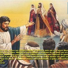 Santo Evangelho (Mt 23, 1-12) – Paróquia Nossa Senhora da Piedade