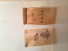 Wedding favors #coffee #stamps