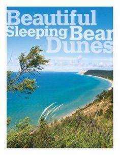 Beautiful Sleeping Bear Dunes, Michigan. Going this summer <3