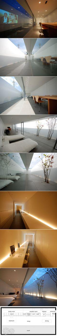 Minimalist House par Shinichi Ogawa & Associates