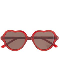 J.Crew Girls' Selima Optique® for crewcuts heart sunglasses ($55) ❤ liked on Polyvore