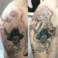 nice Top 100 octopus tattoo - http://4develop.com.ua/top-100-octopus-tattoo/