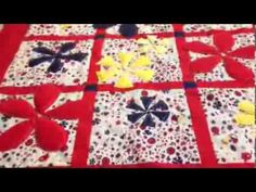 Here& a fun video tutorial by the Cowboy Quilter that shows a great way to add extra dimension to our quilts with puffy flowers. Rose Applique, Applique Patterns, Quilt Patterns, Quilting Tips, Quilting Tutorials, Puffy Quilt, Easy Quilts, Mug Rugs, Quilt Top