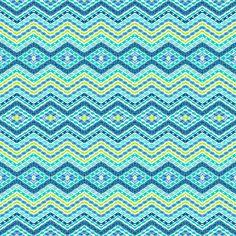 Pattern aqua Art Print - Amy Sia