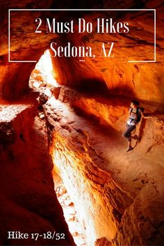 Hiking in Sedona, Arizona is beautiful. Read about our two new favorite trails!