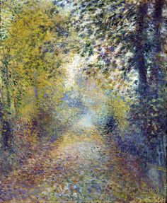 In the Woods by Pierre-Auguste Renoir, 1880✰ Beautiful ✰