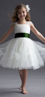 Seahorse 48298 Flower Girl Dress | Weddington Way