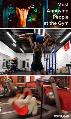 From Smelly to Flirty: 12 Most Annoying People at the Gym
