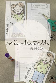 All About Me Flipboo