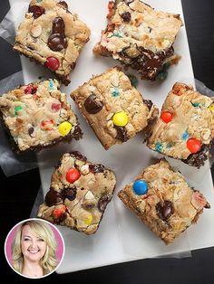 Avoid Licking the Screen: Bakerella's Fully-Loaded, Monster CookieBars