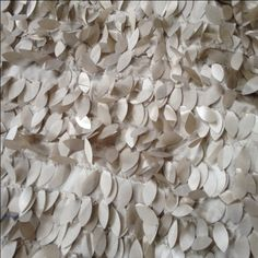 Taupe Leaf Jungle - Mosaic, Inc. : Just wait until you see this linen on a table - it's a VERY big crowd-pleaser at weddings and special events.