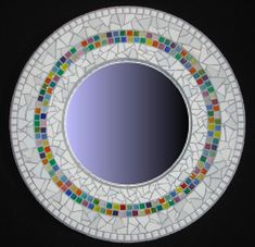 Mosaic Mirror from Kracked Up Mosaics