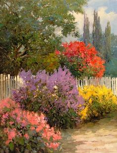 Image result for bob ross spring and summer paintings