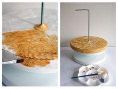 Gravity Defying Chocolate Cake - CakesDecor