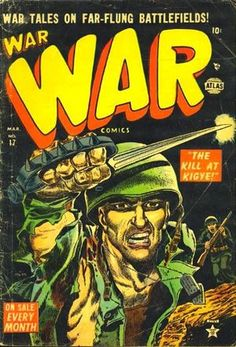 War Comics (Mar cover by Gene Colan. War Comics, Marvel Comics, Comic Book Covers, Comic Books, Arrow Black Canary, Comic Art Community, Deathstroke, Classic Comics, Film Books
