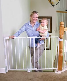 Look at this White Universal 2-in-1 Safety Gate on #zulily today!