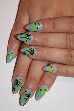 20 Sunset Nail Design Ideas  Become A Nail Tecnician   http://www.nailtechsuccess.com/nail-technicians-secrets/?hop=megairmone
