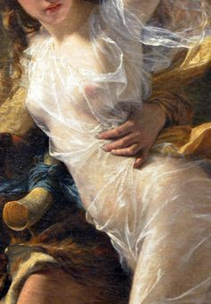 Detail of The Storm by Pierre-Auguste Cot 1880