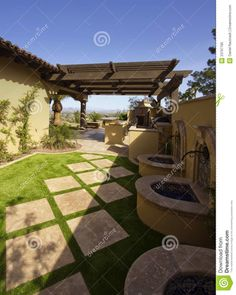 Image from http://thumbs.dreamstime.com/z/desert-mansion-home-back-yard-23797785.jpg.