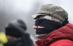 Protest mut în faţa Guvernului faţă de legile justiţiei FOTO