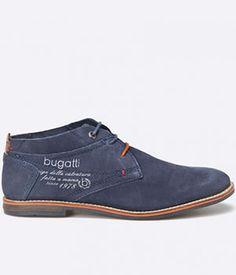 Ghete Bugatti Scurte Piele Intoarsa Barbati Mai, Bugatti, Men's Fashion, Boots, Dress Shoes, Footwear, Men, Moda Masculina, Crotch Boots