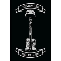 "Remember The Fallen Decal - 4"" x 6"""