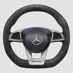 Steering wheel rendering tutorial on Behance