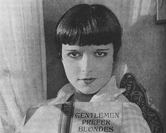 """Louise Brooks, """"Just Another Blonde"""", 1926"""