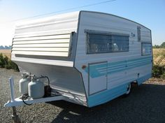1966 Aristocrat Lo-liner... We just bought a cute little camper like this. It's a bit rougher around the edges but soon enough it'll shine like this one. Same year same model same colors. I'M SOOOO EXCITED!!