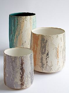 Ceramics by Clare Conrad at Studiopottery.co.uk - 2010. vases