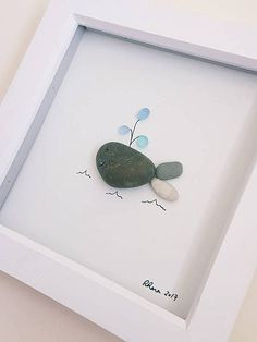 Check out this item in my Etsy shop https://www.etsy.com/uk/listing/537694575/whale-pebbles-art-framed-art-nautical