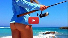 Sexy Girls fishing in the sea: enjoy :-)