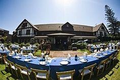 Glen Tavern Inn, Santa Paula, CA.  English tudor garden theme. Glen Tavern lobby and lawn $2000  Lawn capacity for sit - down dinner is 200.
