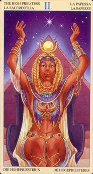 High Priestess - Universal Goddess Tarot