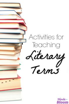 Literary terms aren
