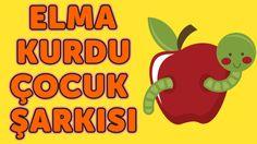 Ben Bir Elma Kurduyum Kıvrıla Kıvrıla Gezerim | Çocuk Şarkısı